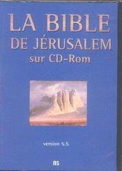 La Bible de Jérusalem - Intérieur - Format classique