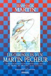 Chroniques D'Un Martin Pecheur - Intérieur - Format classique