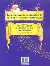Mesaventures Du Pere Noel T1 La Revolte Des Jouets - 4ème de couverture - Format classique