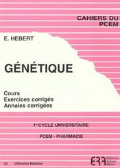Genetique N.20 - Intérieur - Format classique
