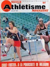 Athletisme Magazine N°65 du 01/07/1975 - Couverture - Format classique