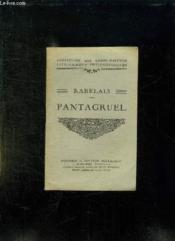 Pantagruel. - Couverture - Format classique
