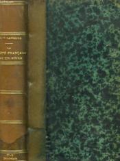 LA SOCIETE FRANCAISE AU XIIIe SIECLE D'APRES DIX ROMANS D'AVENTURE - Couverture - Format classique