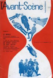 L'AVANT-SCENE - FEMINA-THEATRE N° 233 - LE MOBILE d'ALEXANDRE RIVEMALE - Couverture - Format classique