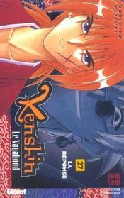 Kenshin le vagabond t.27 ; la réponse - Intérieur - Format classique