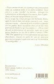 Esquisses parisiennes - 4ème de couverture - Format classique