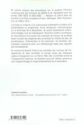 Histoire De La Religion Et De La Culture En Europe De 1800 A 1914 En Dissertations Corrigees Capes/A - 4ème de couverture - Format classique