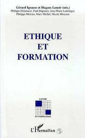 Ethique Et Formation - Intérieur - Format classique