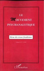 Le Mouvement Psychanalytique T.2 - Intérieur - Format classique