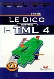 Le dico référence HTML 4 - Couverture - Format classique