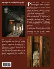 Meubles de Provence - 4ème de couverture - Format classique