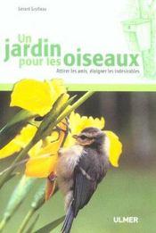 Un Jardin Pour Les Oiseaux - Intérieur - Format classique