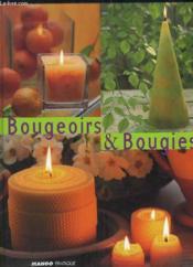 Bougeoirs Et Bougies - Couverture - Format classique