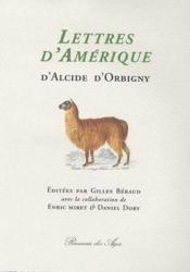 Lettres d'Amérique - Couverture - Format classique