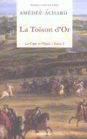 Toison D Or (La) - Intérieur - Format classique