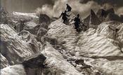 Quarantième ascencion française du Mont Blanc - Intérieur - Format classique