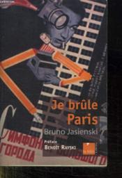 Je Brule Paris - Couverture - Format classique