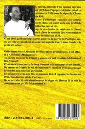 Le Cheval Du Roi - 4ème de couverture - Format classique
