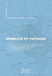Mobilite Et Paysage - Couverture - Format classique