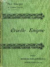 Cruelle Enigme. - Couverture - Format classique