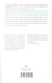 La barbe d'Olympe de Gouges et autres objets de scandale - 4ème de couverture - Format classique