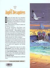 Les aigles décapitées t.14 ; les hommes de fer - 4ème de couverture - Format classique