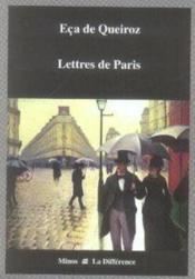 Lettres de paris - Couverture - Format classique