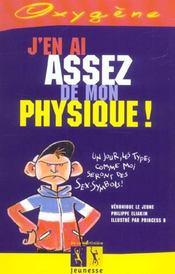 J'En Ai Assez De Mon Physique ! - Intérieur - Format classique