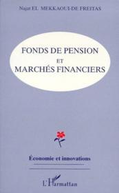 Fonds de pension et marchés financiers - Couverture - Format classique