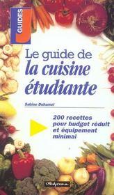 Le guide de la cuisine etudiante - Intérieur - Format classique