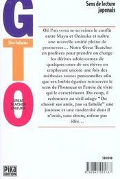 GTO t.16 - 4ème de couverture - Format classique