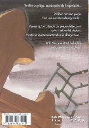 Piege au zacadalgo - 4ème de couverture - Format classique