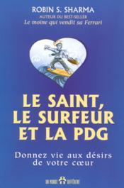Saint Le Surfer Et La Pdg - Couverture - Format classique