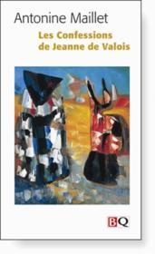 Les Confessions De Jeanne De Valois - Couverture - Format classique