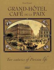Grand hotel cafe de la paix (luxe) - Couverture - Format classique