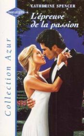 L'Epreuve De La Passion - The Marriage Experiment - Couverture - Format classique