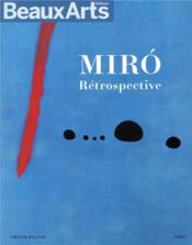 Vente  Miró, retrospective  - Collectif