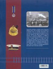 Uniformes du rail en France de 1840 à nos jours - 4ème de couverture - Format classique