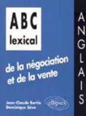 Abc Lexical De La Negociation Et De La Vente Anglais - Intérieur - Format classique