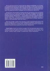 Prophetes Et Propheties - 4ème de couverture - Format classique