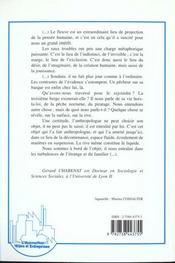 L'aménagement fluvial et la mémoire ; parcours d'un anthropologue sur le fleuve Rhône - 4ème de couverture - Format classique