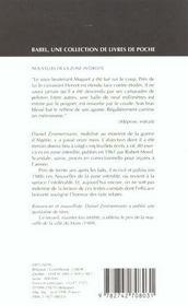 Nouvelles de la zone interdite babel 208 - 4ème de couverture - Format classique