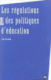 Regulations Des Politiques D Education - Intérieur - Format classique