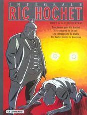 Ric Hochet ; intégrale t.4 - Intérieur - Format classique