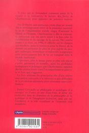Ecologie Et Liberte ; Bernard Charbonneau, Precurseur De L'Ecologie Politique - 4ème de couverture - Format classique