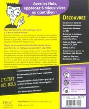 Nero 6 Reloaded Pour Les Nuls - 4ème de couverture - Format classique