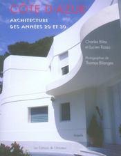 Côte d'Azur ; architecture des années 20 et 30 - Intérieur - Format classique