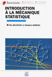 Introduction a la mecanique statistique - Couverture - Format classique