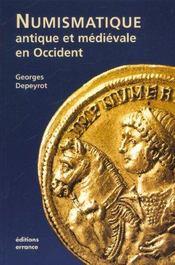 Numismatique Antique Et Medievale En Occident - Intérieur - Format classique