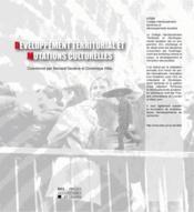 Developpement Territorial Et Mutations Culturelles - Couverture - Format classique